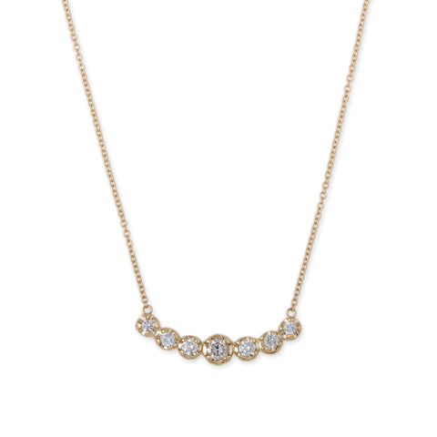 7 DIAMOND KATE NECKLACE