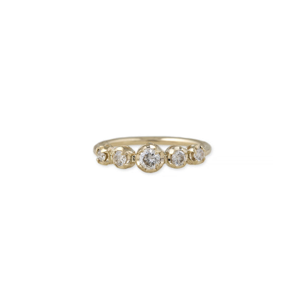 5 DIAMOND KATE RING