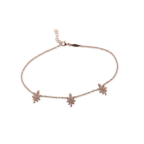 buy of jewellery anklet diamond silver online studded pack