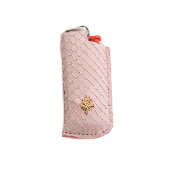 PINK SNAKE SKIN SWEETLEAF LIGHTER