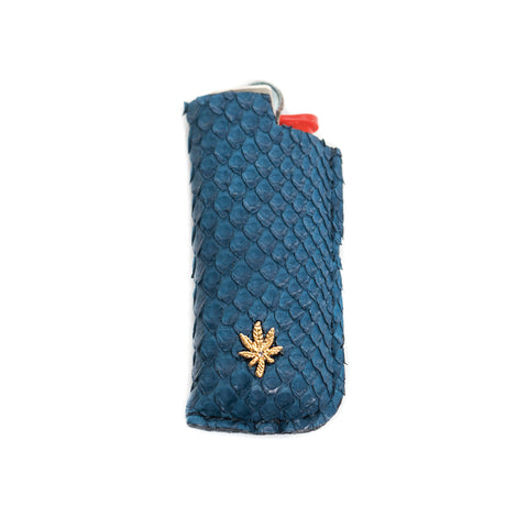 NAVY SNAKE SKIN SWEETLEAF LIGHTER