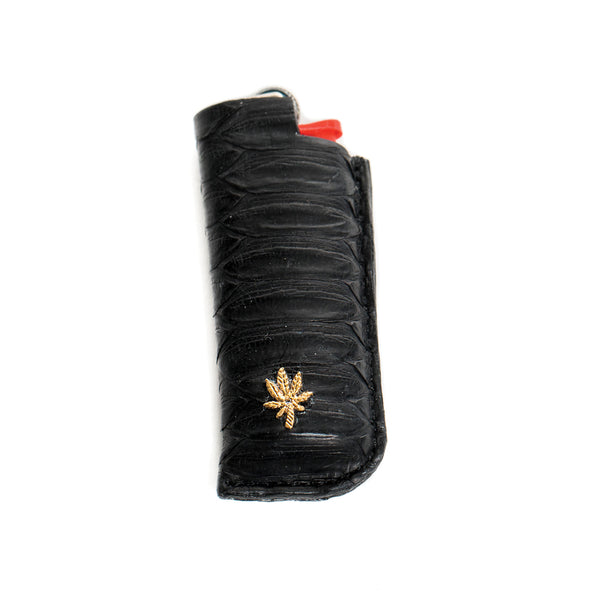 BLACK SNAKE SKIN SWEETLEAF LIGHTER