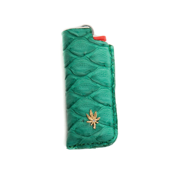 GREEN SNAKE SKIN SWEETLEAF LIGHTER