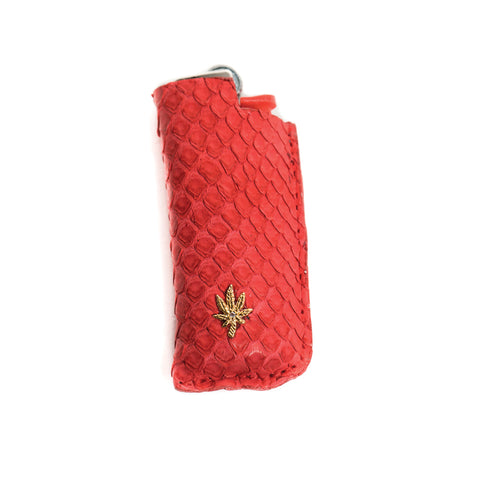 RED SNAKE SKIN SWEETLEAF LIGHTER