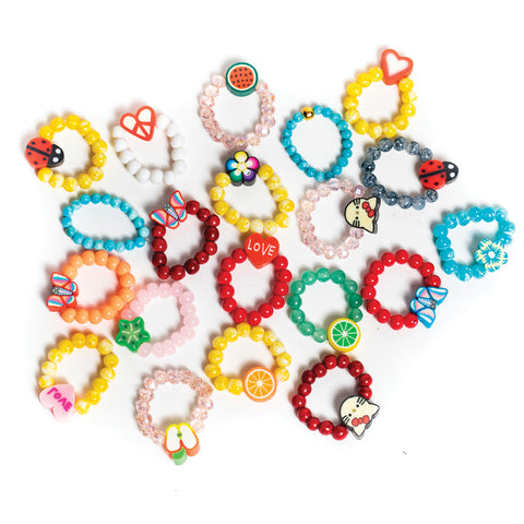 ZOE AICHE BEADED RINGS