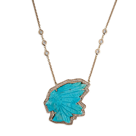 TURQUOISE CHIEF NECKLACE