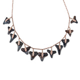 MINI SHARK TOOTH SHAKER NECKLACE