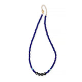 ZOE AICHE NAVY BEADED BEST NECKLACE