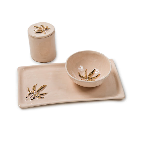 JA X SWEETLEAF CERAMIC SET