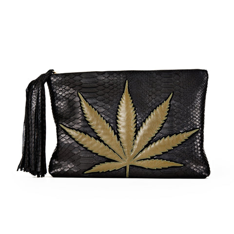 SWEET LEAF CLUTCH - BLACK