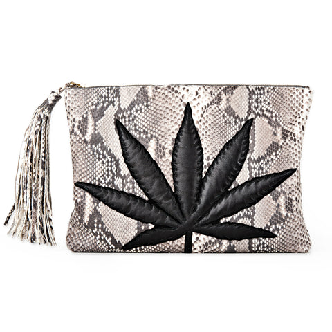 SWEET LEAF CLUTCH - GREY