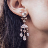 DIVINE FEMININE MOONSTONE EARRINGS