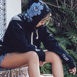 FLOWER EYE CROWN HOODIE