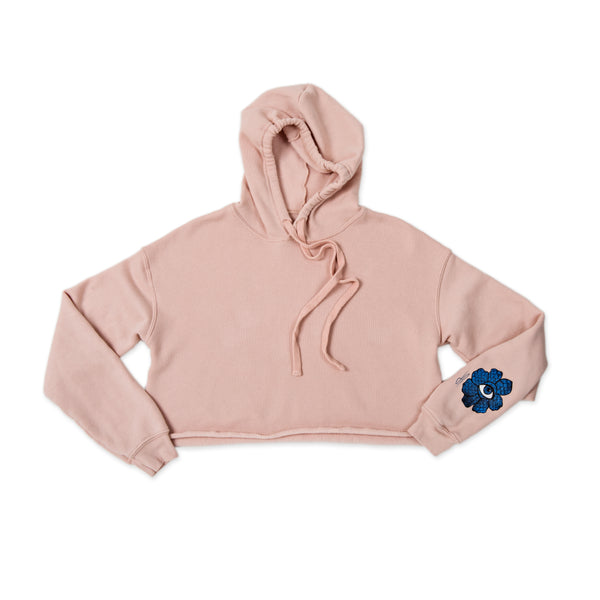 BLUE FLOWER TRIBE ICON PINK HOODIE