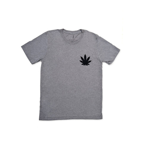 GREY SWEET LEAF TSHIRT