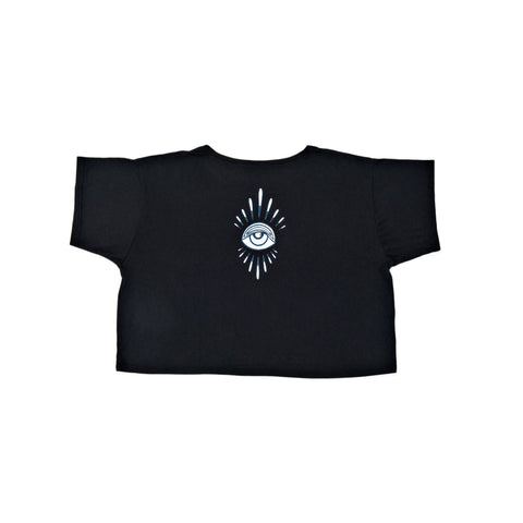 BLACK EYE BURST BOXY TEE