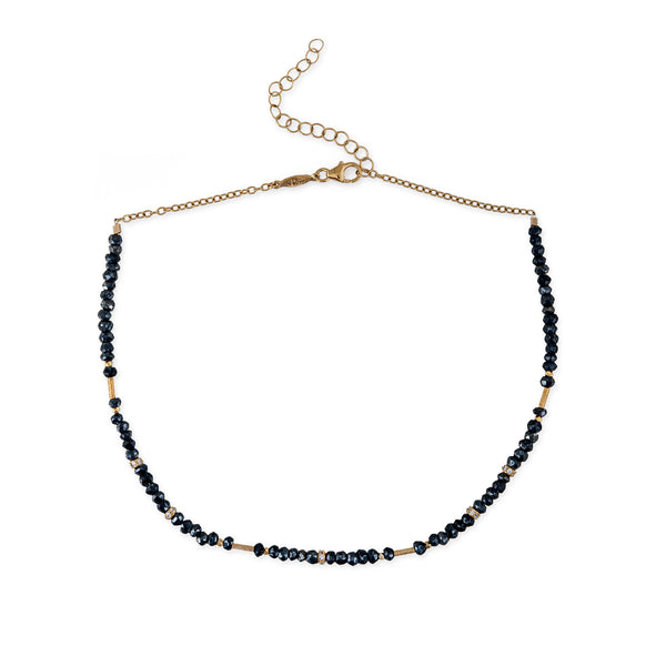 PYRITE BEADED CHOKER