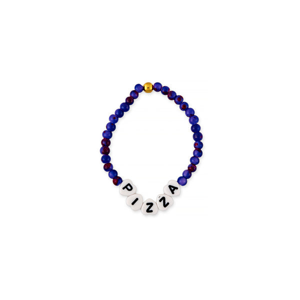 ZOE AICHE BEADED WORD BRACELET