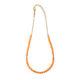 ZOE AICHE GOLD + BEADED NECKLACE