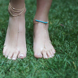 1 DIAMOND TOE ANKLET