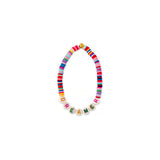 ZOE AICHE RAINBOW HEISHI BEADED WORD BRACELET