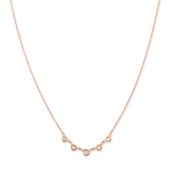 5 DIAMOND EMILY NECKLACE