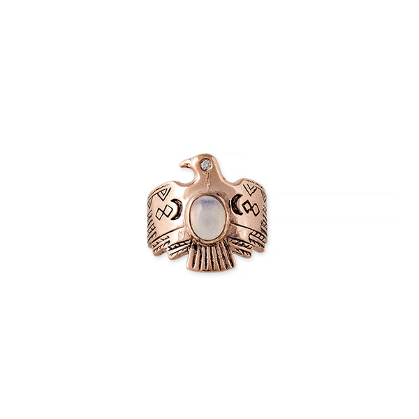 GEMSTONE THUNDERBIRD RING