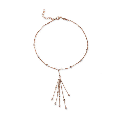 Diamond Tassel Anklet