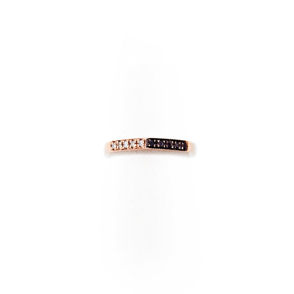 10 DIAMOND YING YANG PEAK RING