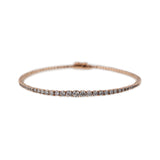 GRADUATED PAVE BANGLE