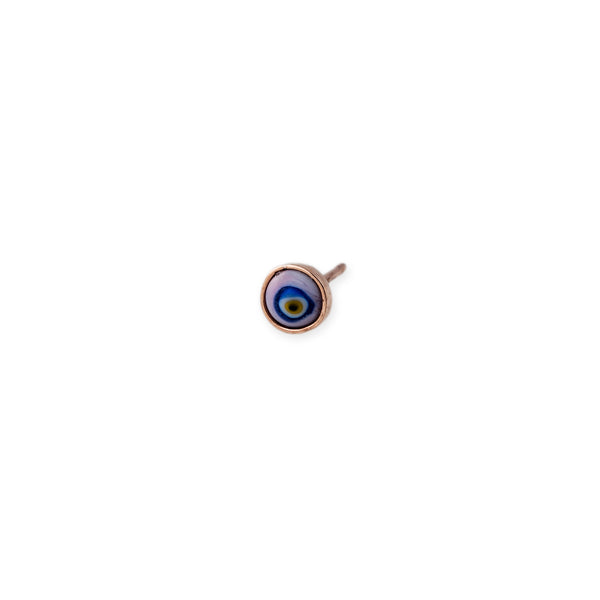 MINI CERAMIC EYE EARRING