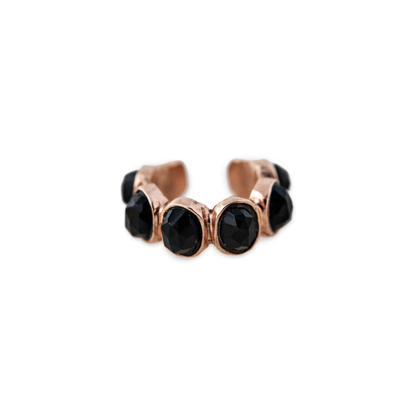 ONYX ETERNITY EAR CUFF