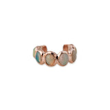 OPAL ETERNITY EAR CUFF