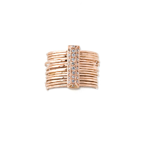 Brick Multi Waif Ring