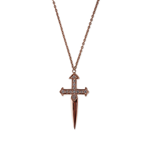 DAGGER CROSS NECKLACE