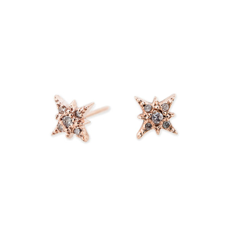 star lent point anthony up mm stud earrings close six