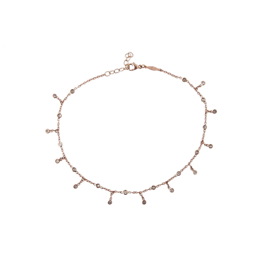 sweet jacquie products aiche pave rg leaf anklet