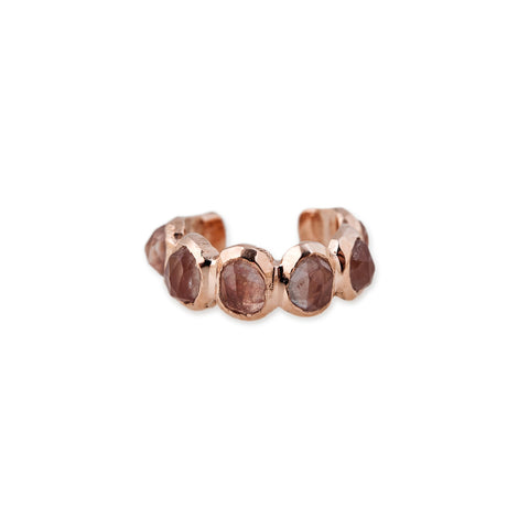 SUNSTONE ETERNITY EAR CUFF