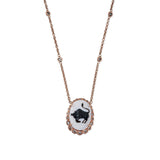 ARIES CAMEO NECKLACE