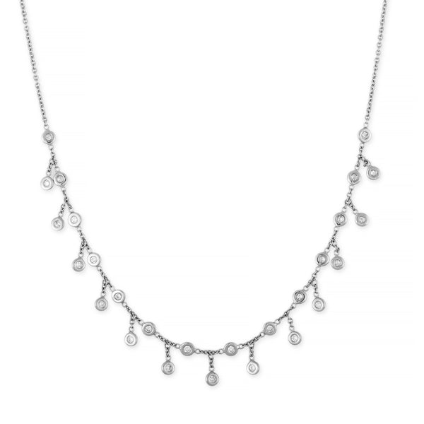 DIAMOND SHAKER NECKLACE