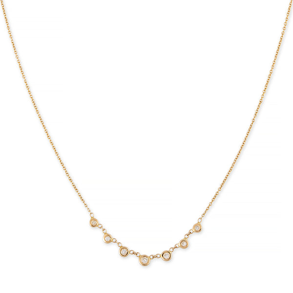 7 DIAMOND EMILY NECKLACE