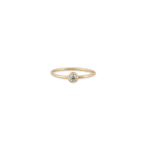SINGLE DIAMOND SOPHIA RING