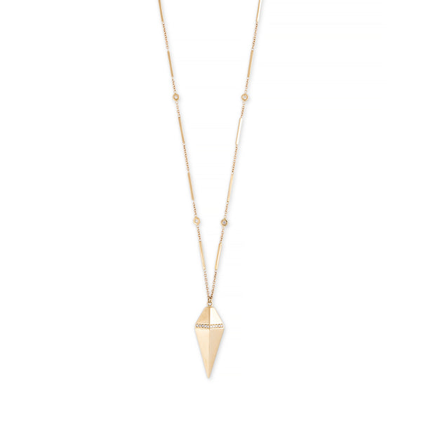 PAVE DIAMOND PENDULUM NECKLACE