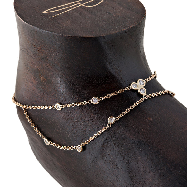 Diamond Selena Anklet