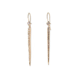 ICE PICK BEZEL EARRINGS