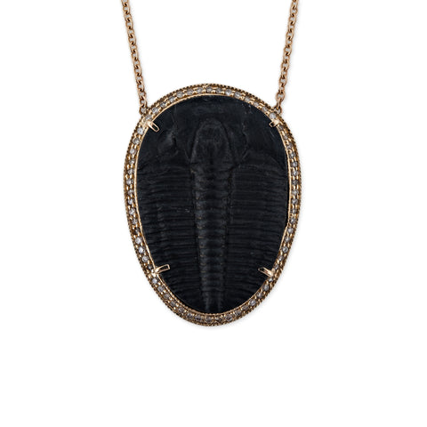 LARGE TRILOBITE NECKLACE