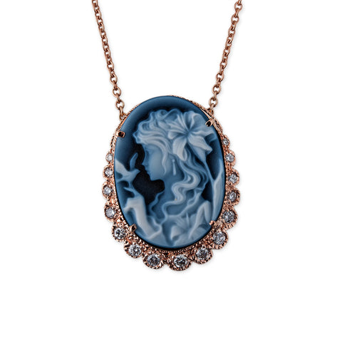 CATHERINE CAMEO NECKLACE