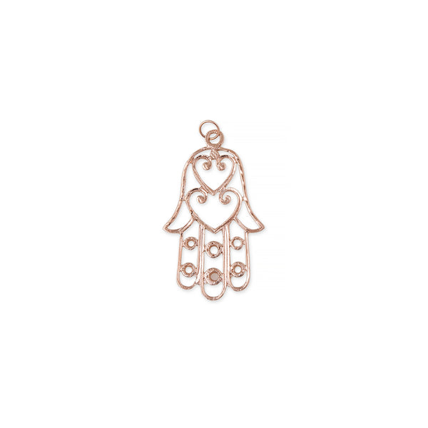 LARGE CUT OUT HAMSA CHARM