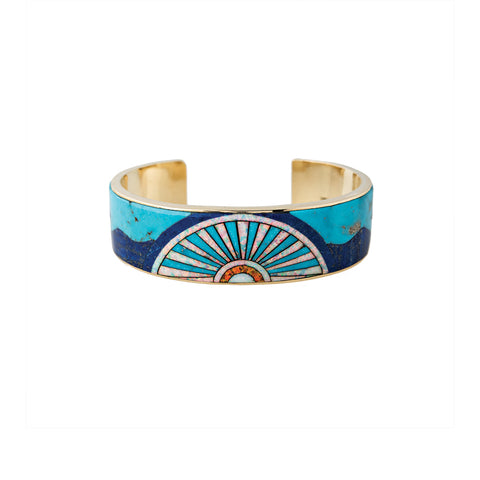 OPAL INLAY SUNSHINE CUFF