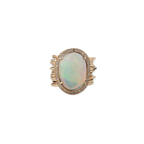 FREEFORM OPAL MULTI WAIF RING